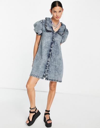 Black Forever 21 Stripe Knit Midi Skirt