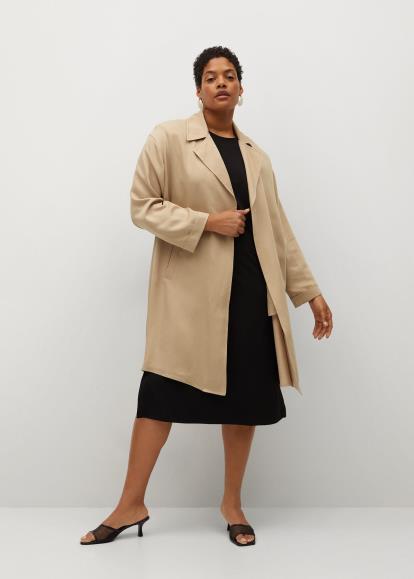 Grey Oasis Pleated Knit Midi Skirt
