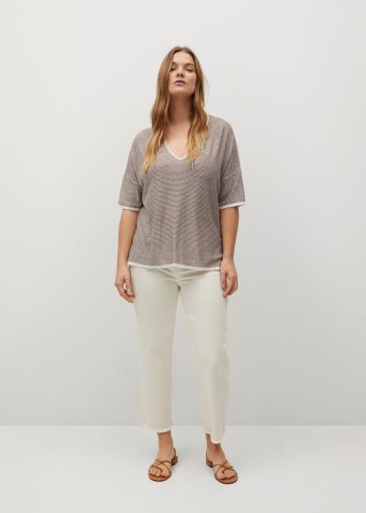 Multi oasis-stores.com Stretch Cotton Stripe Shirt