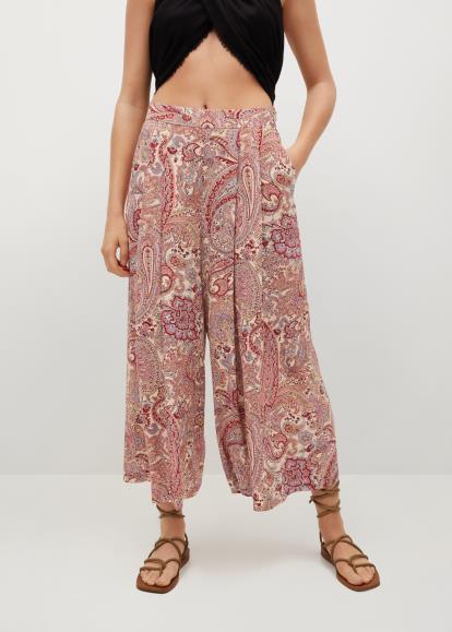 Pink oasis-stores.com Stripe Lurex Top