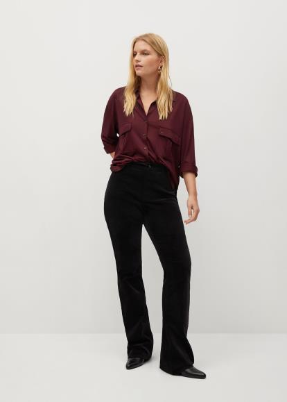Black Oasis Velvet Shift Dress