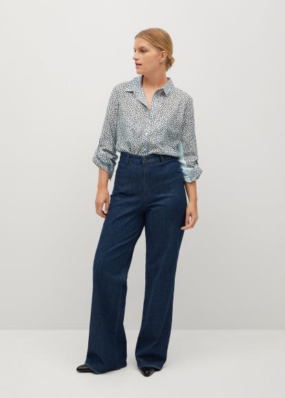 Blue warehouse.co.uk Denim Button Through Dress