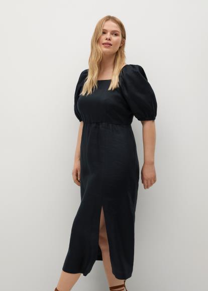 Blue warehouse.co.uk Disco Leopard Jacquard Dress