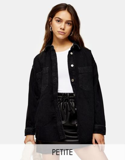 Black Urban Outfitters Silence + Noise Cass Cupro Skort Playsuit