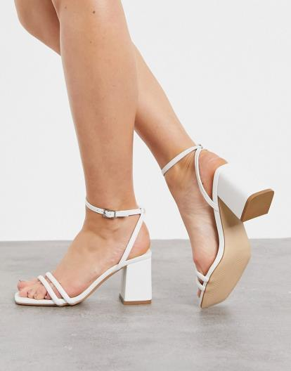 Beige Miss Selfridge Garda High Doll Sandals
