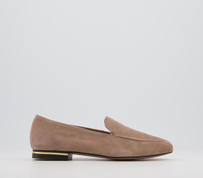 Silver asos.com Leader Ballet Flats