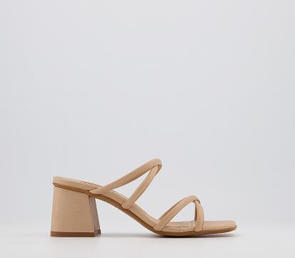 Silver asos.com Lemonade Elasticated Ballet Flats