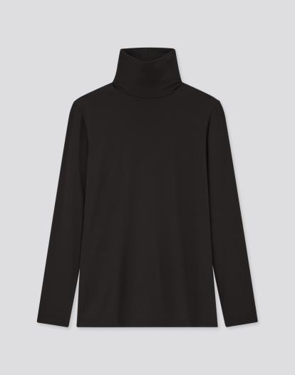 Black H&M Satin Tunic