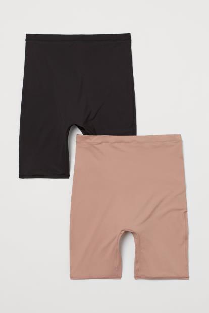 Black topshop.com Double Bar Tote Bag